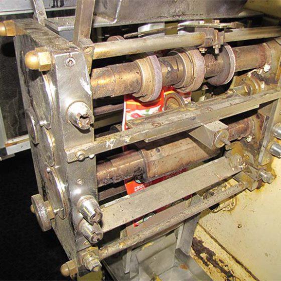 Before: Packet Sealing Machine