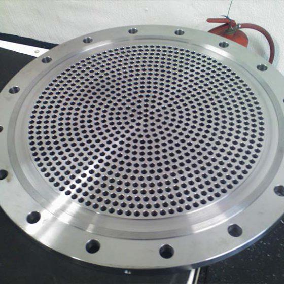 CNC Milling Turbo End Flange